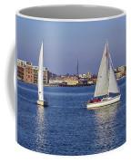 City Harbor Sailing Coffee Mug