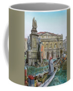 City Of Milan In Italy Under Water Coffee Mug