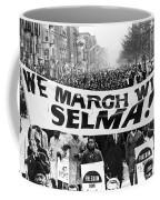 Civil Rights March, 1965 Coffee Mug