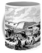 Civil War Battery Scene Coffee Mug