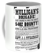 Civil War: Broadside, 1863 Coffee Mug