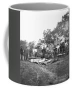 Civil War Burial, 1864 Coffee Mug