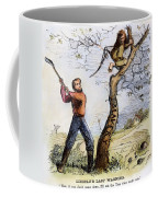 Civil War Cartoon, 1862 Coffee Mug by Granger
