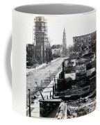 Civil War Damaged Charleston South Carolina - Meeting Street - C 1865 Coffee Mug