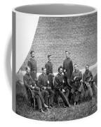 Civil War Officers Coffee Mug