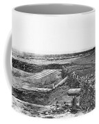 Civil War Quaker Guns Coffee Mug by Photo Researchers