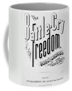 Civil War: Songsheet, 1861 Coffee Mug