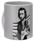 Clapton In Black And White Coffee Mug
