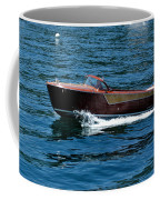 Classic Wooden Boat Coffee Mug