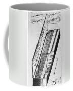 Clavichord, 1636 Coffee Mug