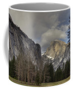 Clearing At Half Dome Coffee Mug