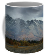 Clearing Storm Over North Canol Road Coffee Mug