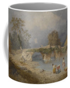 Clearing Up For Fine Weather Beddgelert North Wales 1867 Coffee Mug