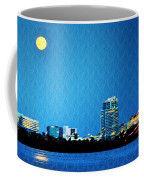 Clearwater At Night Coffee Mug by Bill Cannon