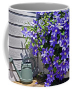 Clematis And Watering Can Coffee Mug