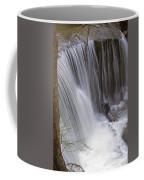 Cliff Falls In Maple Ridge Coffee Mug