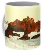 Cliffs In The Warm Evening Light Coffee Mug