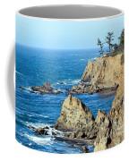 Cliffside Oceanview Coffee Mug