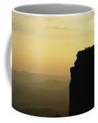 Climber Amy Whisler Stands Silhouetted Coffee Mug