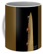 Climbing A Knife Edge Coffee Mug
