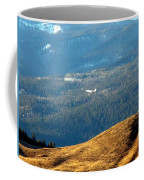 Climbing Skyward Coffee Mug by Will Borden