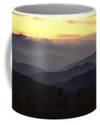 Clingmans Dome Is The Highest Point Coffee Mug by James P. Blair