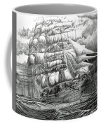 Clipper In The Storm Filtered Coffee Mug