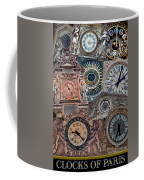 Clocks Of Paris Coffee Mug