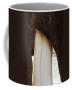 Clos-up Of An Asian Elephants Massive Coffee Mug