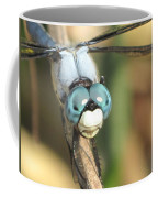 Close Up Blue Eyes Coffee Mug