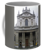 Close Up Of A Classical Architecture Of A Building In London Coffee Mug