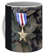 Close-up Of A Medal On The Uniform Coffee Mug
