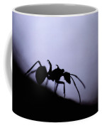 Close-up Of A Silhouetted Ant Coffee Mug