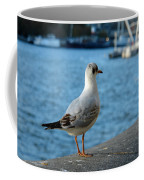 Close Up Of A Tern Next To The Thames And London Eye Coffee Mug