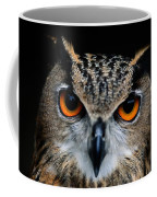 Close Up Of An African Eagle Owl Coffee Mug