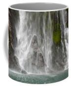 Close Up Of One Of The Many Waterfalls Coffee Mug by Brooke Whatnall