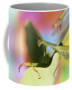 Close-up Of Praying Mantis Coffee Mug