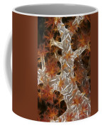 Close-up Of Soft Coral Revealing Coffee Mug by Terry Moore