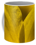 Close Up Of The Petals Of A Daffodil Coffee Mug by Todd Gipstein