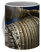 Close-up View Of A Rocket Engine Coffee Mug by Roth Ritter