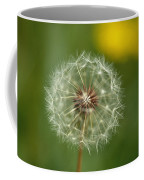 Close View Of A Dandelion Gone To Seed Coffee Mug