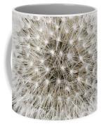 Close View Of A Dandelion Seed Head Coffee Mug