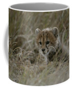 Close View Of A Juvenile Cheetah Coffee Mug