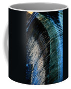 Close View Of A Sheet Of Water Pouring Coffee Mug