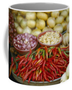 Close View Of Chili Peppers And Other Coffee Mug