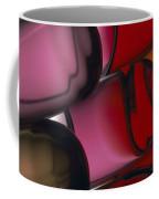 Close View Of Colored Water, Imitating Coffee Mug