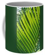 Close View Of Palm Fronds Coffee Mug