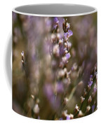 Close View Of Purple Wildflowers Coffee Mug