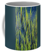 Close View Of Water Grasses Growing Coffee Mug