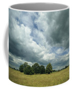 Cloud-filled Sky Over A Cluster Coffee Mug